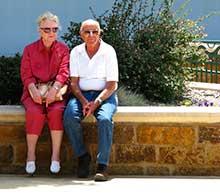 idős házaspár, idős emberek